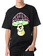 Mishka Death Cap Black T-Shirt
