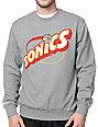 Mitchell & Ness Sonics Kamikaze Grey Crew Neck Sweatshirt