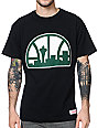 Mitchell & Ness Sonics Kamikaze Retro Black T-Shirt