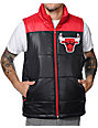 Mitchell and Ness NBA Chicago Bulls Black & Red Vest
