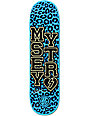"Mystery Jimmy Carlin Varsity Leopard 8.25""  P2 Skateboard Deck"