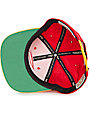 NBA Mitchell and Ness Atlanta Hawks XL Logo Red & Gold Snapback Hat
