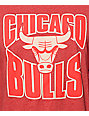 NBA Mitchell and Ness Bulls Baseball T-Shirt