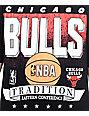 NBA Mitchell and Ness Bulls Set Shot Black T-Shirt