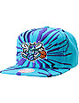 NBA Mitchell and Ness Charlotte Hornets Earthquake Snapback Hat