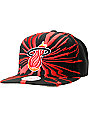NBA Mitchell and Ness Miami Heat Earthquake Snapback Hat