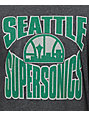 NBA Mitchell and Ness Sonics Baseball T-Shirt