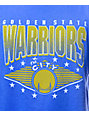 NBA Mitchell and Ness Warriors Handle Tailored Blue T-Shirt