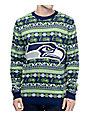 NFL Forever Collectibles Seahawks Aztec Ugly Sweater