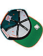 NFL Mitchell and Ness Miami Dolphins Diamond Snapback Hat