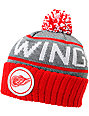 NHL Mitchell and Ness Detroit Red Wings Pom Beanie