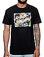 Neff Astro Floral Black T-Shirt