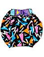 Neff Boys Retro Multicolored Full Zip Face Mask Hoodie