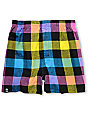 Neff Brawnee Multi-Color Plaid Boxers