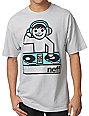 Neff DJ Blaster Silver T-Shirt
