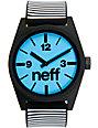 Neff Daily Black Stripe Analog Watch