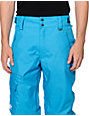 Neff Daily Riding Blue 10K Snowboard Pants