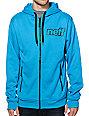 Neff Daily Shredder Blue Tech Fleece Jacket