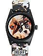 Neff Daily Wild Puppy Analog Watch