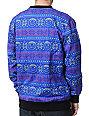 Neff Henrik Blue Crew Neck Sweatshirt