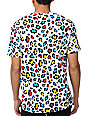 Neff Jotah Alp White Leopard Print T-Shirt