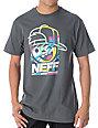 Neff Kenni Drip Charcoal T-Shirt