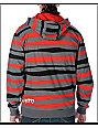 Neff Krook Red striped Hoodie