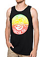 Neff Lockenni Black Tank Top
