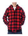 Neff Lumber Plaid Black Hoodie