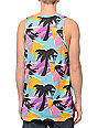 Neff Palms Multi Neon Tank Top