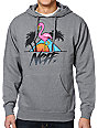 Neff Paradise Grey Pullover Hoodie