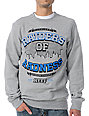 Neff Ruthless Heather Grey Crew Neck Sweatshirt