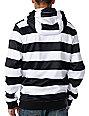 Neff Shredder Black Stripe Mens Tech Fleece Jacket