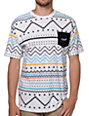 Neff Tribe White Pocket T-Shirt