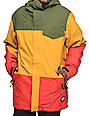 Neff Trifecta 10k Rasta Snowboard Jacket