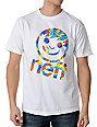 Neff Tye Dye Tilt White T-Shirt
