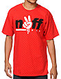 Neff Unity Red Polka Dot T-Shirt