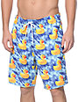 "Neff Washed Out Ducky 19""  Hot Tub Board Shorts"