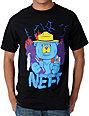 Neff Wildfire Mens Black T-Shirt