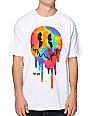 Neff X Aoki Drop Smiling White & Tie Dye T-Shirt