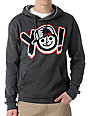 Neff YO! Charcoal Pullover Hoodie
