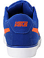 Nike 6.0 Mavrk Deep Royal Blue & Team Orange Skate Shoes