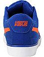 Nike 6.0 Mavrk Deep Royal Blue & Team Orange Skate Shoes