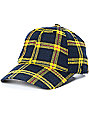 Ninth Hall Standard Yellow Plaid Strapback Hat