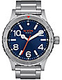 Nixon 46 Blue Sunray Analog Watch