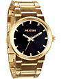 Nixon Cannon Gold & Black Analog Watch