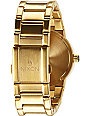 Nixon Cannon Gold & Green Analog Watch