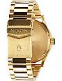 Nixon Sentry SS Gold & Green Analog Watch
