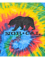 Nor Cal Black Bear Tie Dye T-Shirt