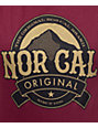Nor Cal Homebrew Maroon T-Shirt
